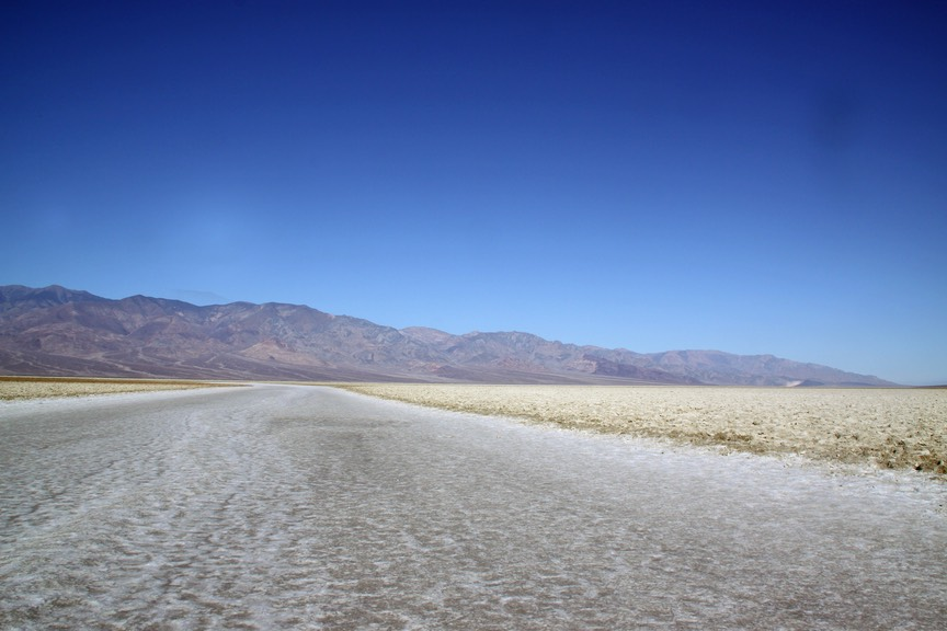 Bad water, Death Valley