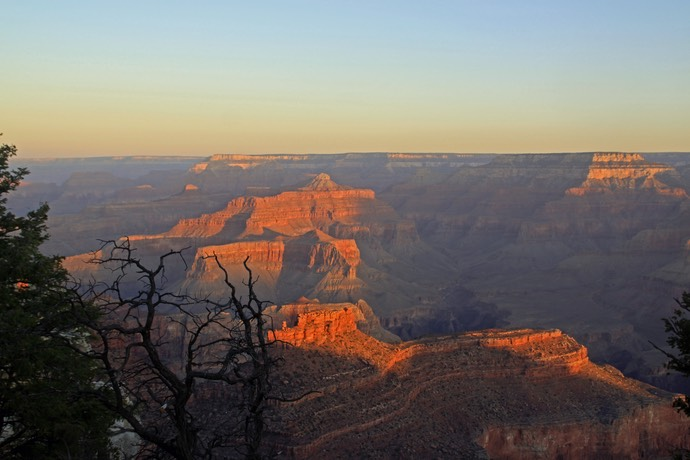 Zonsopgang Grand Canyon
